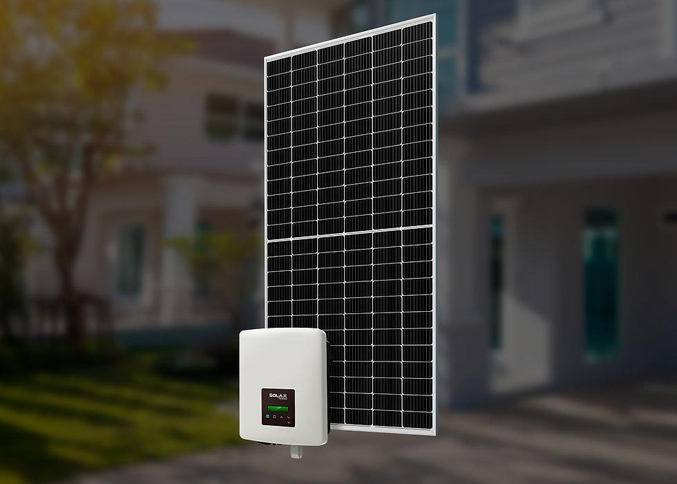 Solax, однофазный, 2 кВт