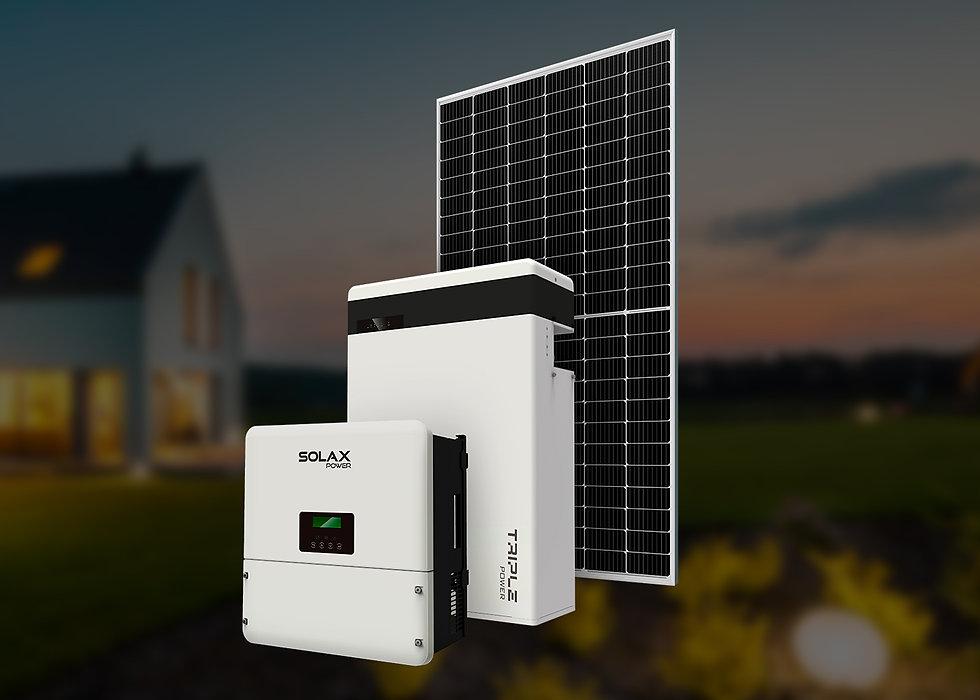 Solax ESS, однофазный, 5 кВт