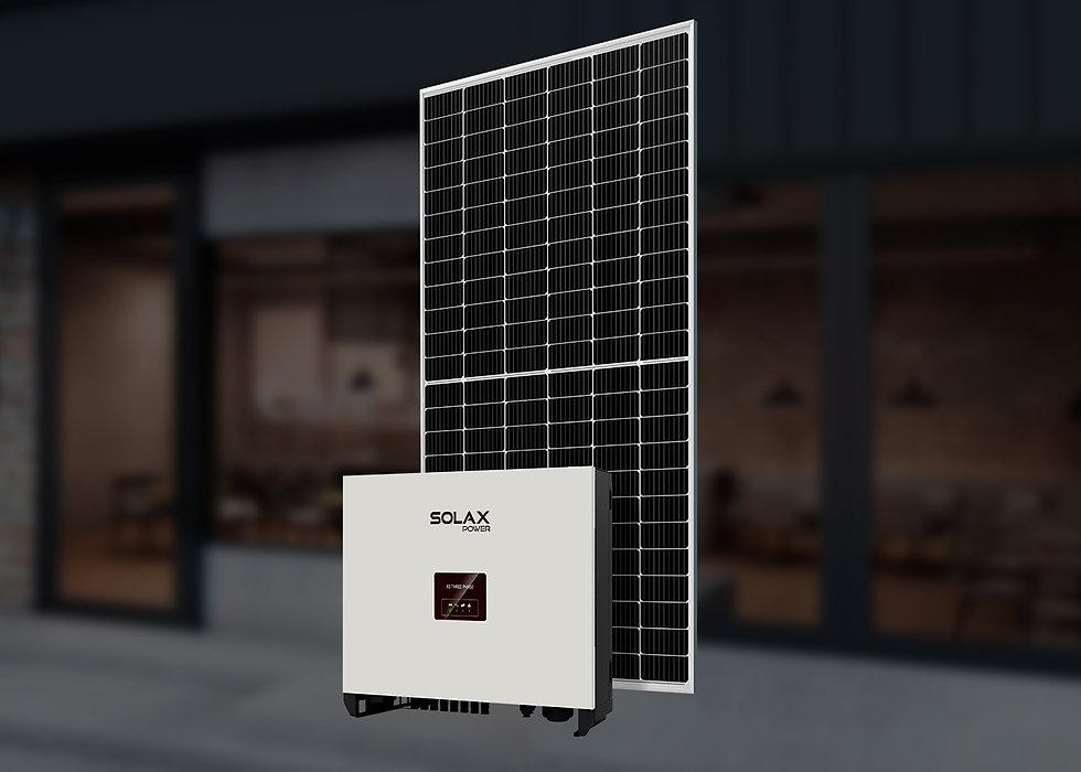 Solax, трехфазный, 30 кВт
