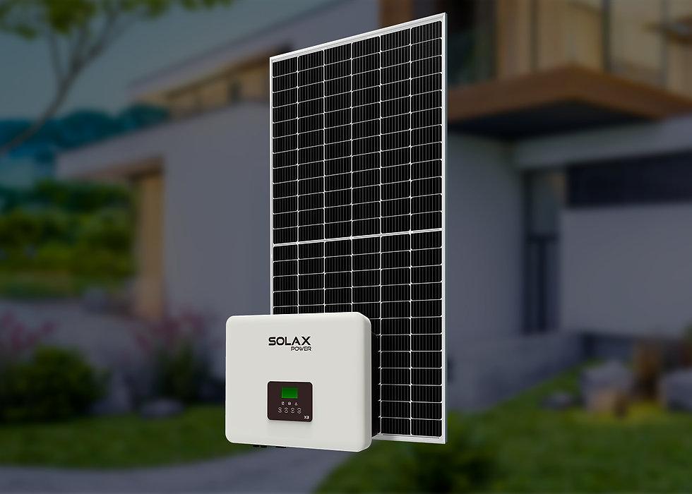 Комплект трехфазный, 5 кВт, Solax – Jinko Solar