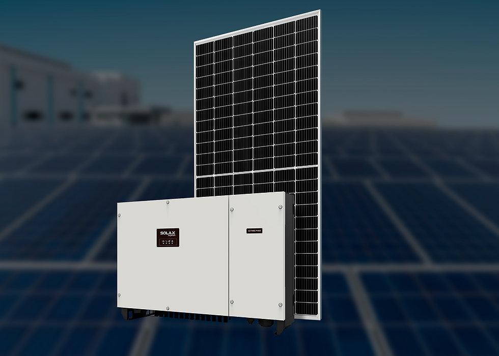Solax, трехфазный, 100 кВт
