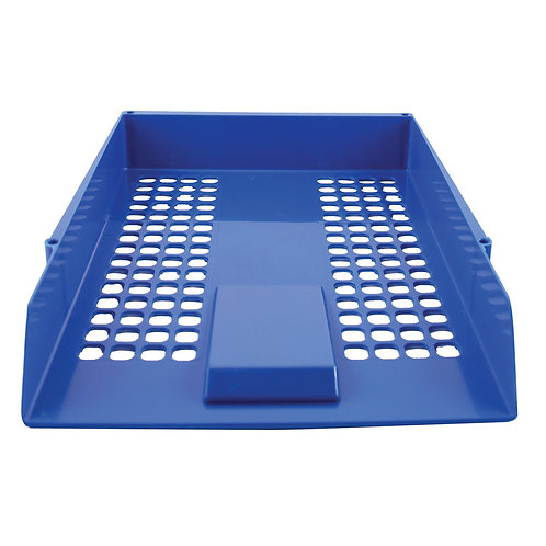 Q-Connect Letter Tray Blue