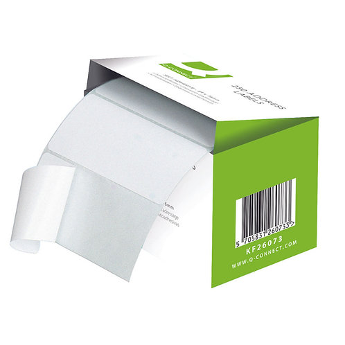 Address Label Roll Self Adhesive 102x49mm White (Pack of 180)