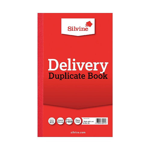 Silvine Duplicate Delivery Book 210x127mm