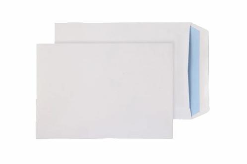 C5 WHITE ENVELOPES NO WINDOW