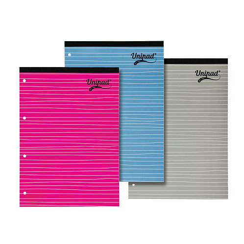 Pukka Pad Feint Ruled Margin Headbound Refill Pad 160 Pages A4 (Pack of 15)