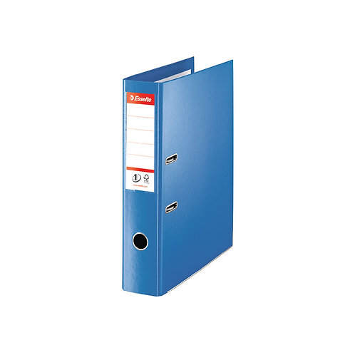 Esselte 75mm Lever Arch File Polypropylene Foolscap Blue