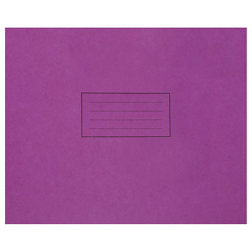 Handwriting Book 165x203mm Purple