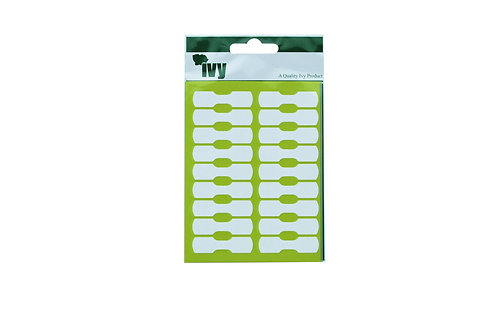 IVY LABELS WHITE JEWELLERY 10×38mm