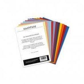 60 Assorted Colour Envelopes