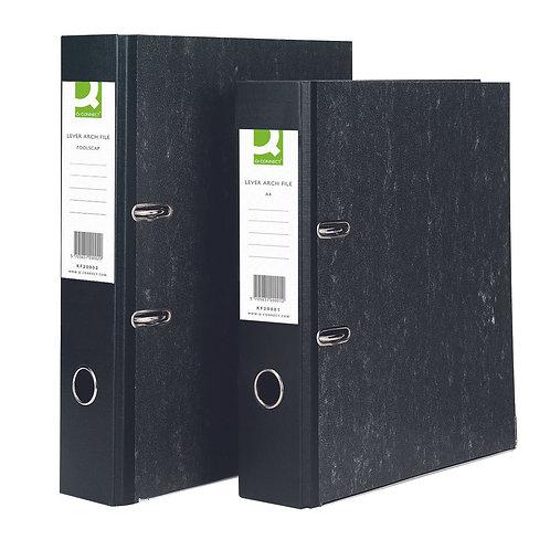 Q-Connect Lever Arch File A4 Black