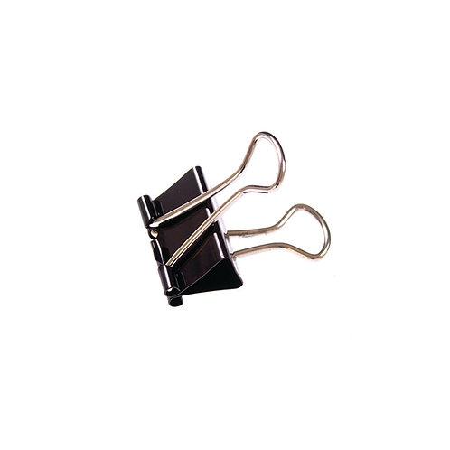 Foldback Clip 16mm Black (Pack of 10)