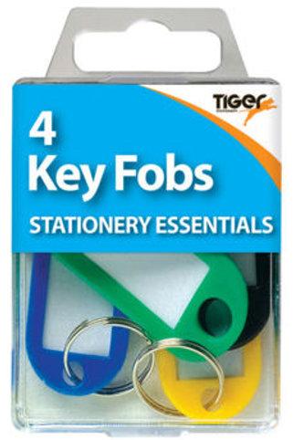 4 Key Fobs