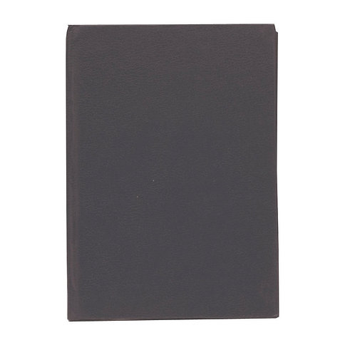 Casebound Index Notebook 96 Pages A6