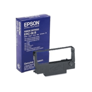 EPSON ERC-38 B Black Ribbon