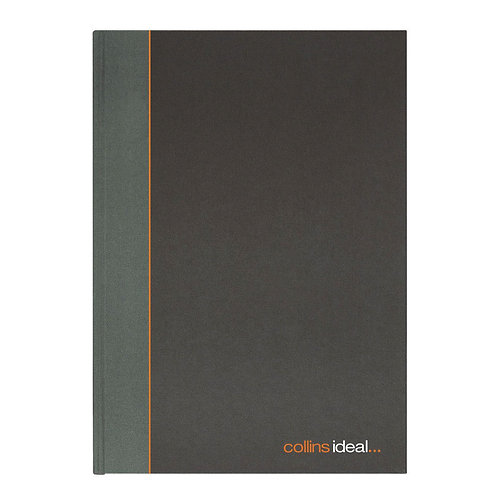Collins Ideal Feint Ruled Casebound Notebook 192 Pages A4
