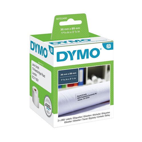 DYMO 36MM X 89MM 99012 LW