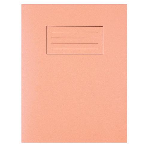 Silvine Exercise Book 5mm Squares 229x178mm Orange