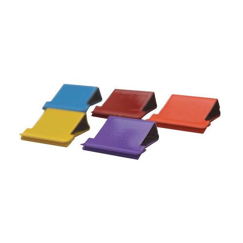 Rapesco Supaclip 40 Refill Clips Multicoloured