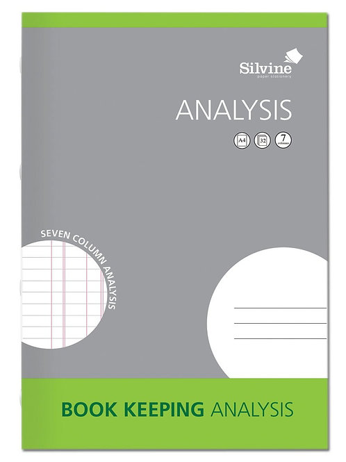Book Keeping Analysis Book
