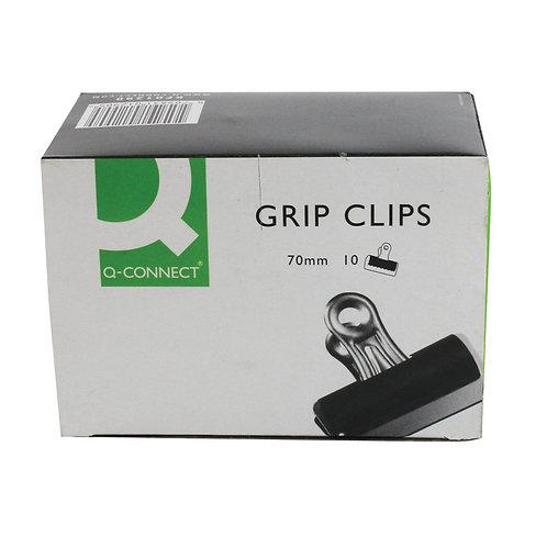 Grip Clip (Bulldog Clip) 70mm Black (Pack of 10)