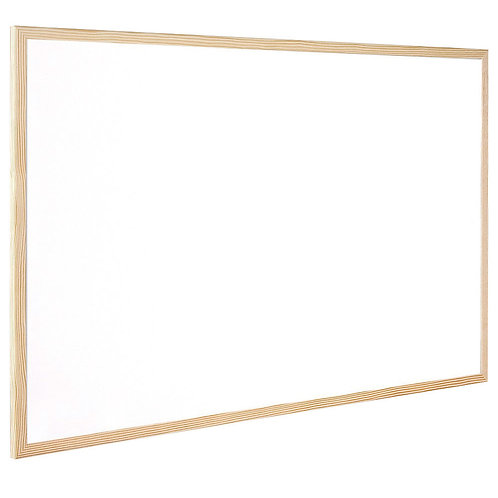 Wooden Frame Whiteboard 600x400mm