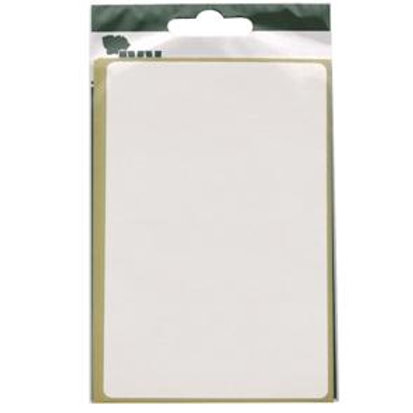 White Rectangle 80 x 120mm