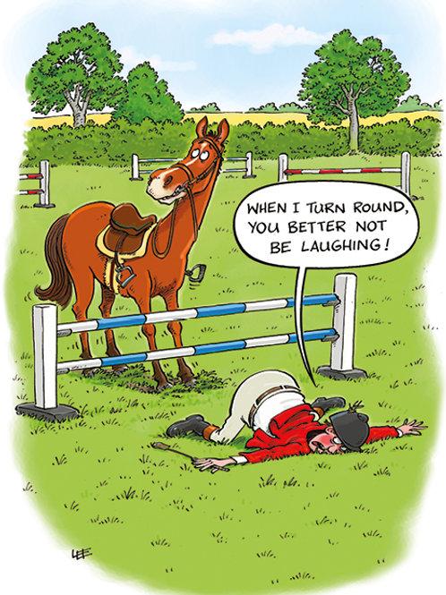 HORSE JUMP - HAPPY BIRTHDAY 10739