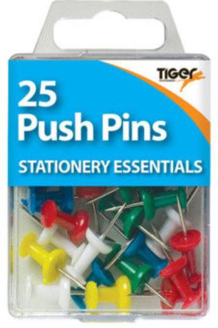 25 Push Pins