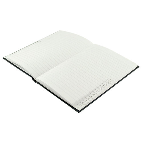 Casebound Index Notebook 192 Pages A5