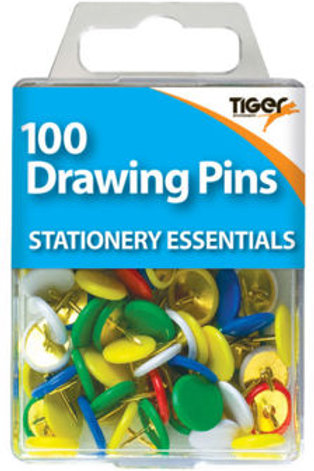 100 Drawing Pins