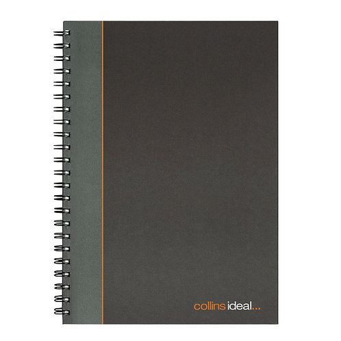Collins Ideal Feint Ruled Wirebound Notebook A4