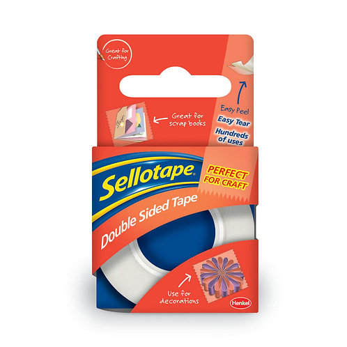 Sellotape Double Sided Tape 15mmx5m