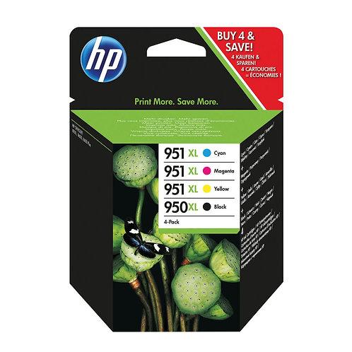 HP 950XL Black /951XL (Pack of 4)