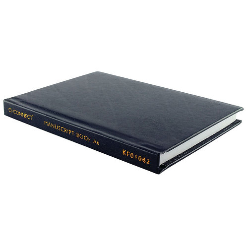 Feint Ruled Casebound Notebook 192 Pages A6