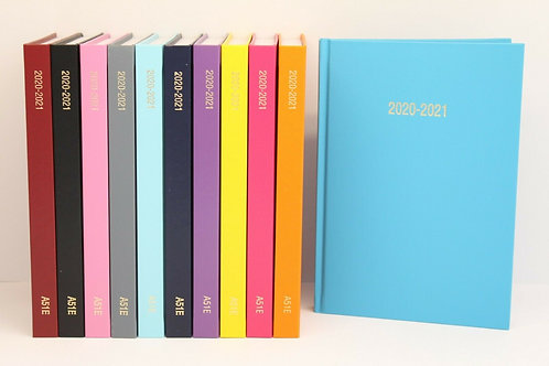 ACADEMIC A5 PAGE A DAY DIARY 2020-2021