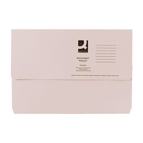 Document Wallet Foolscap (Pack of 50)