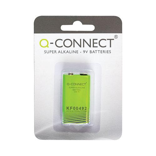 Q-Connect 9V Alkaline Battery
