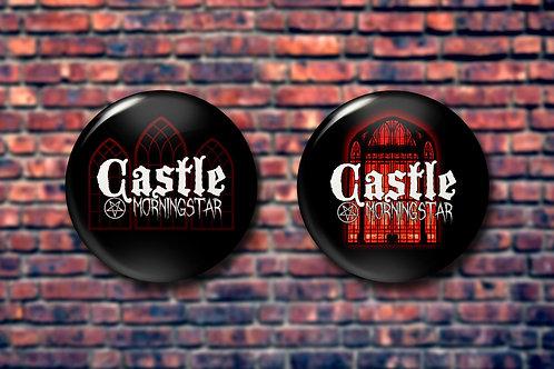 Castle Morningstar Pin