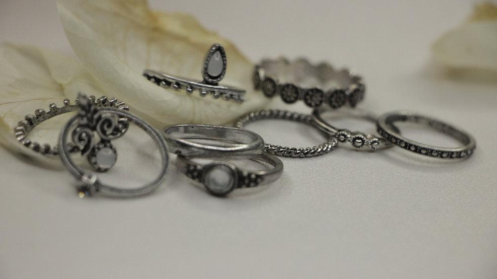 Maleficent ring set