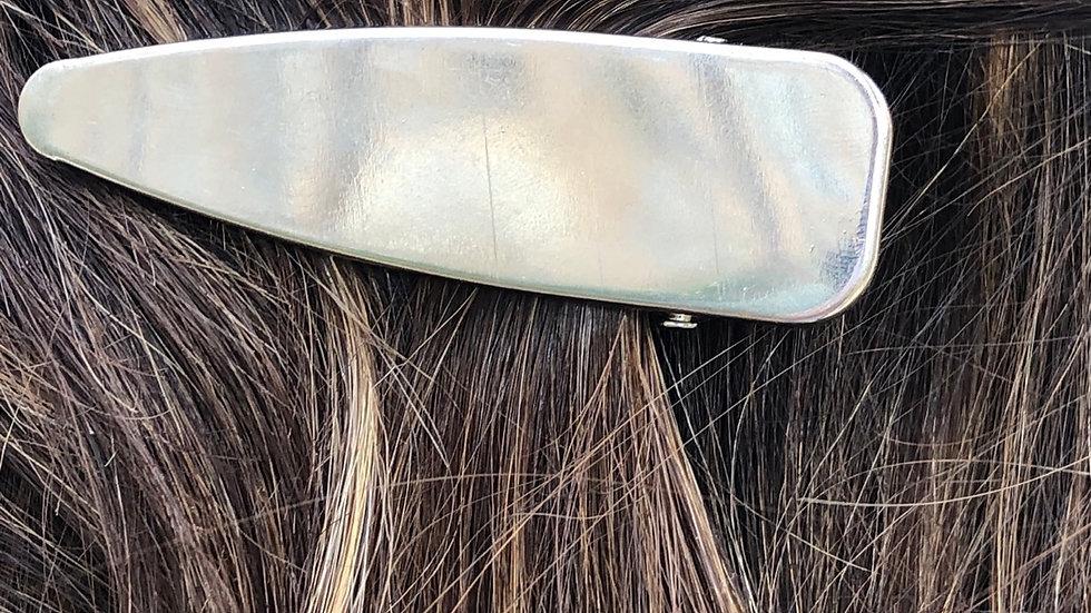 Silver hairclips