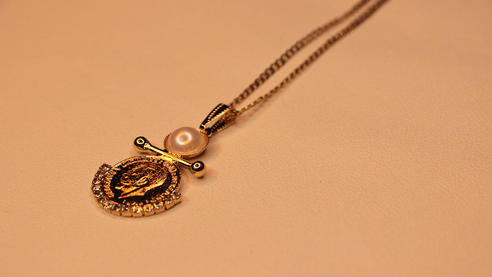 Customized coin necklace