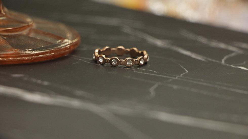 Crystals ring