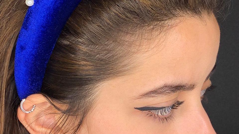 Night sky blue headband