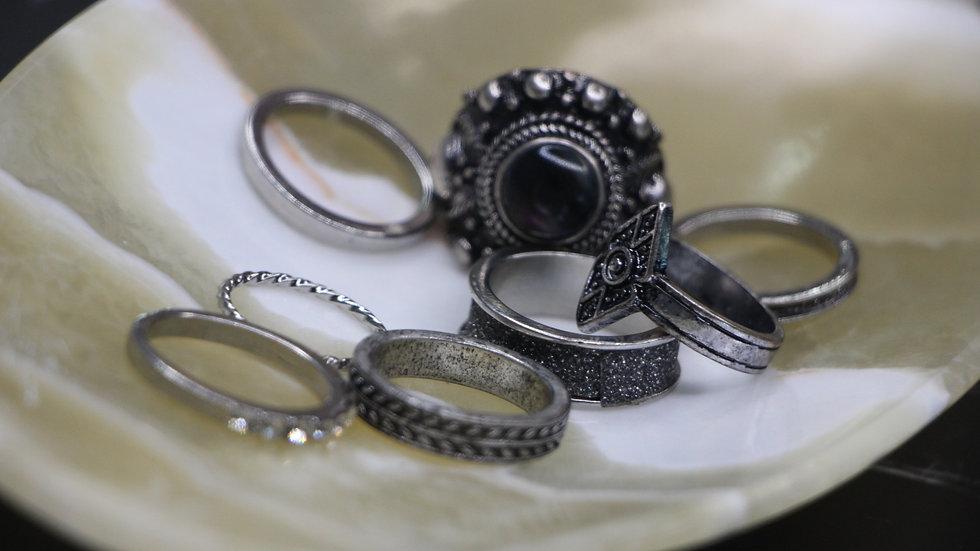 Bershka ring set