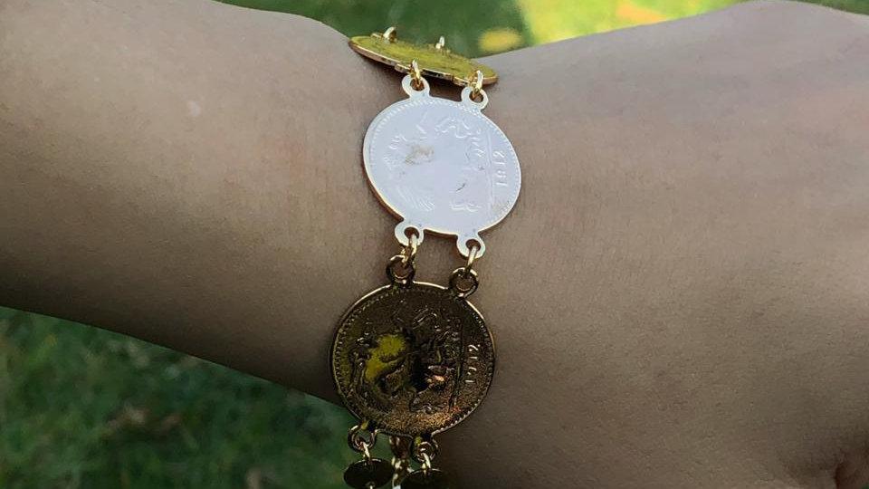 Coin bracelet II