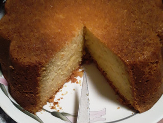 Pound cake and punchlines