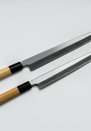 Couteau Yanagi acier Blanc 2