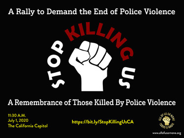 A Rally to Demand the End of Police Violence