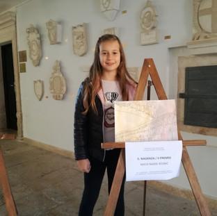 """Dobitnica 2. nagrade u kategoriji djece školske dobi - Maya Marie Rojnić - OŠ """"G. Martinuzzi"""" - područna škola Galižana, razred III."""